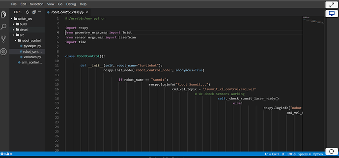 Python not working 17.09